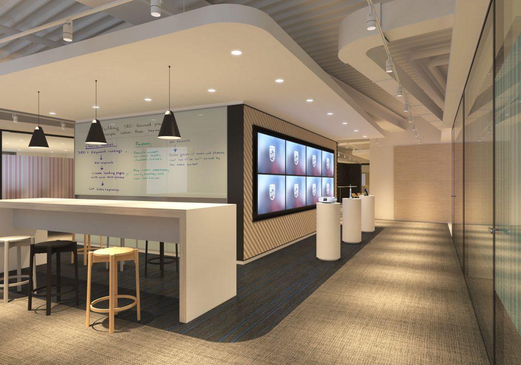 PHILIPS Co-Creation Centerのショースペース